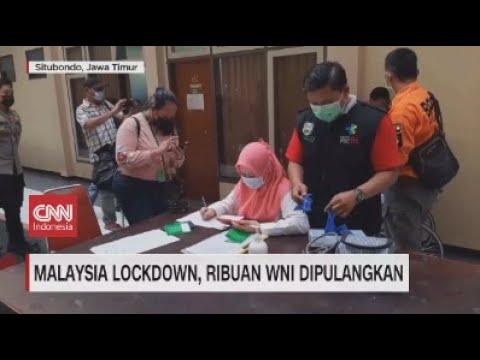 Malaysia Lockdown, Ribuan WNI Dipulangkan