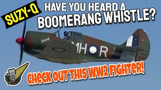 Download WW2 Boomerang fighter makes the noisiest whistle of all... Video