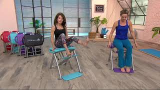 Download Pilates PRO Chair with 4 DVDs by Life's a Beach on QVC Video