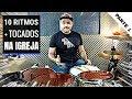 Download COMO TOCAR 10 RITMOS MAIS USADOS - AULA DE BATERIA Video