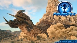 Download Final Fantasy XV - Adamantoise Boss Fight & Location (Tortoise Toppler Trophy / Achievement Guide) Video