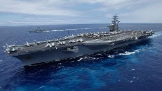 Download 3 US carriers enter western Pacific ahead of Trump visit Video