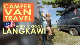 Download S1 EP 21 [ CAMPERVAN TO LANGKAWI WITH DOGS ] #VanLife MALAYSIA Video
