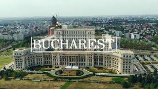 Download Bucarest - Bucharest - Bucuresti - Бухарест - Romania. April 2016 HD Video