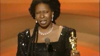 Download Whoopi Goldberg winning Best Supporting Actress Video