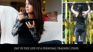 Download DAY IN THE LIFE OF A PERSONAL TRAINER | IIFYM FDOE Video