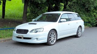 Download 2003 Subaru Legacy Turbo 2.0 Spec B (Canada Import) Japan Auction Purchase Review Video