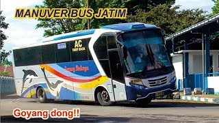 Download AKSI MANUVER TAJAM Bus Sugeng Rahayu, Mira, Harapan Jaya TERBARU 2019 Video