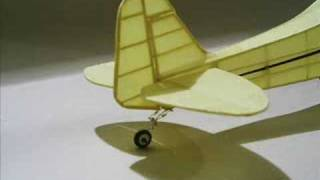 Download Rubber powered scale model airplanes Video