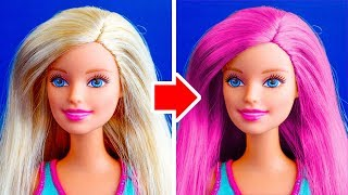Download 26 NEW DIY BARBIE MAKEOVERS YOU CAN MAKE UNDER 5 MINUTES Video
