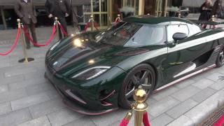 Download [4k] Koenigsegg Agera R outside Grand Hotel, Stockholm, Sweden Video