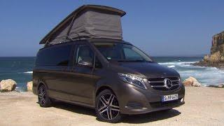 Download Mercedes V-Klasse Marco Polo: Urlaub im Bus - Vorfahrt | auto motor und sport Video