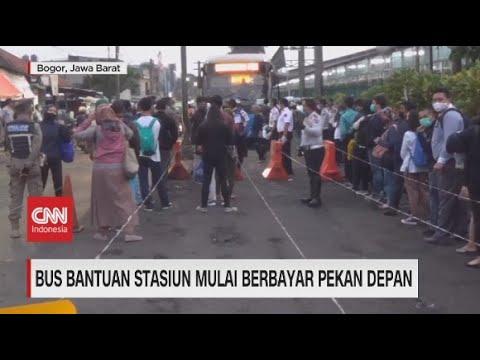Bus Stasiun Mulai Berbayar Pekan Depan
