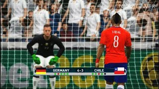 Download GERMANY vs CHILE   Penalty Shootout   PES 2017 Gameplay Video