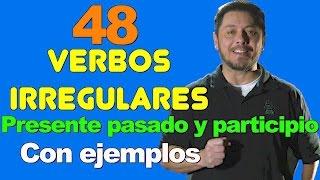Download 48 VERBOS IRREGULARES EN INGLES MUY NECESARIOS DE SABER. Presente, pasado, participio Video