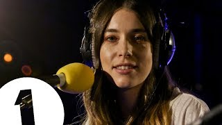 Download HAIM - I'll Try Anything Once (The Strokes cover) - Radio 1's Piano Session Video