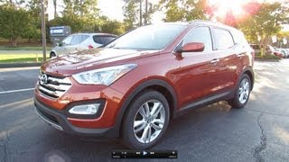 Download 2013 Hyundai Santa Fe Sport 2.0L Turbo Start Up, Exhaust, and In Depth Review Video