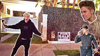Download I PUT JUSTIN BIEBERS HOUSE UP FOR SALE (SECURITY CHASED US) Video