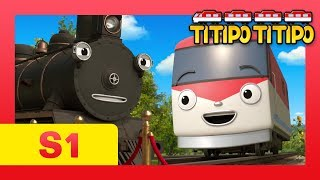 Download TITIPO S1 EP21 l The oldest train Steam meets Titipo! l TITIPO TITIPO Video