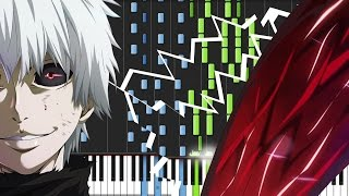Download Unravel - Tokyo Ghoul (Opening) [Piano Tutorial] (Synthesia) // Animenz Video