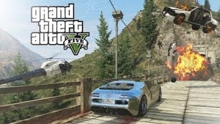 Download GTA V - Mount Chiliad Police Chase Video