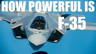 Download HOW POWEFUL IS F-35C ? | lockheed martin | aircraft jet fighter specification Video