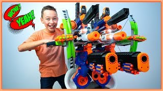 Download GIANT NERF SuperMegaStrike Blaster! (but does this BIGGEST NERF actually work??) Video