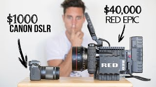 Download $1000 Camera VS $40,000 Camera | Explained Video