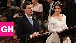 Download Body Language Experts Analyze Princess Eugenie and Jack Brooksbank's Wedding | GH Video
