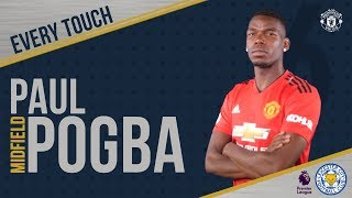 Download Paul Pogba   EVERY Touch v Leicester!   Manchester United 2-1 Leicester City Video