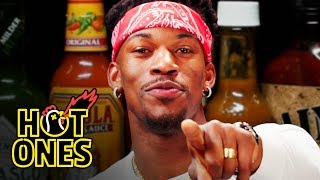 Download Jimmy Butler Goes Rocky Balboa on Spicy Wings   Hot Ones Video