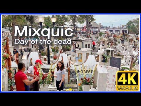 【4K】WALK Cemetery CDMX Mexico City 4K video TRAVEL vlog HDR