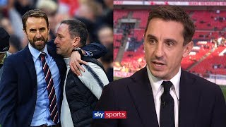 Download Gary Neville praises Gareth Southgate for giving England an identity Video