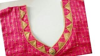 Download Very beautiful designer neckline cutting and stitching Video