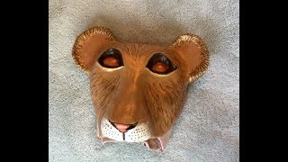 Download How to Make a Simba Cub Mask Headpiece Video