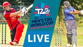 Download LIVE CRICKET - ICC Men's T20 World Cup Europe Final 2019 - Jersey vs Italy. Match starts 16.25 BST Video