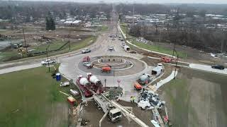 Download I-94 Cooper Street bridge deck pour Video