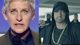 Download CELEBRITIES REACT TO EMINEM DONALD TRUMP DISS FREESTYLE CYPHER Video