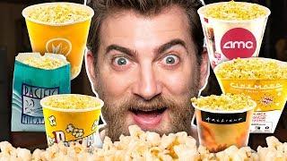 Download Movie Theater Popcorn Taste Test Video