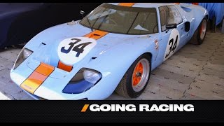 Download Ford GT Racecars And Marino Franchitti - /GOING RACING WITH ADAM CAROLLA Video