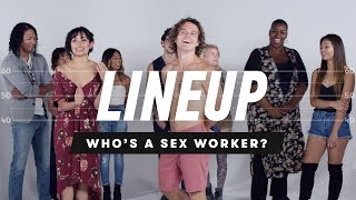 Download People Guess Who's a Sex Worker from a Group of Strangers | Lineup | Cut Video