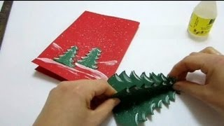 Download Christmas Cards Pop Up Card - How To Make a Pop Up Xmas Tree Card Video