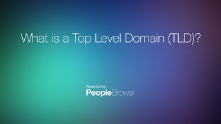 Download What is a Top Level Domain (TLD)? Video
