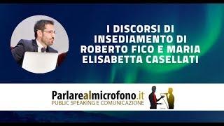 Download Il discorso di insediamento dei nuovi presidenti di Camera e Senato [ANALISI TECNICA] Video