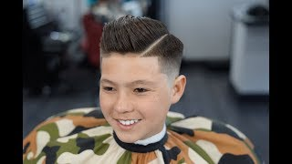 Download Barber Tutorial : KIDS COMB OVER! transformation Video