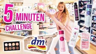 Download Kann ich in 5 Minuten 300 Euro bei DM ausgeben CHALLENGE!! XXL LIVE HAUL | XLAETA Video