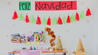 Download Decoraciones navideñas fáciles para tu pared - MEGATUTORIAL ✄ Craftingeek Video