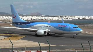 Download Busy 23 Minutes at Lanzarote Airport 28/12/14 HD Video