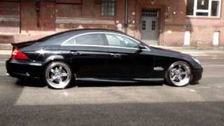 Download MEC Design W219 CLS500 CLS55AMG Bodykit and mecII 10+12 wheels Video