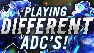 Download Gosu - PLAYING DIFFERENT ADCS Video